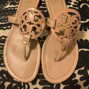 Tory Burch millers in makeup